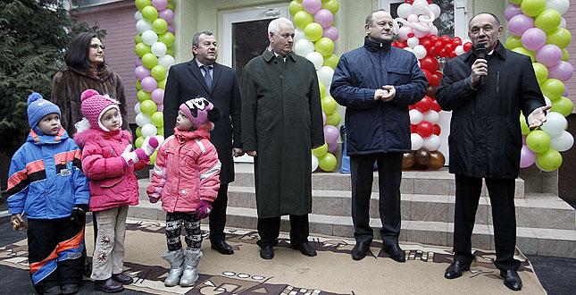 У Києві урочисто відкрили оновлений енергоефективний дитячий садочок №99 (+інфографіка)