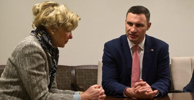 Віталій Кличко у Вашингтоні обговорив фінансування боротьби з ВІЛ/СНІДом для Києва та України