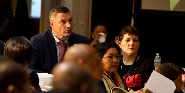 Віталій Кличко у Нью-Йорку взяв участь у міжнародній конференції Fast-Track Cities: Київ може отримати додаткові кошти на боротьбу зі СНІДом